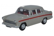 Oxford Diecast 76ACF002 Austin Cambridge Armadillo Beige And Red