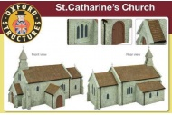 Oxford Structures OS76T001 St. Catherine's Church Pre-Built