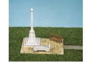 Wills Kits SS72 Village Scene, Bench, Horse Trough and Village Cross Plastic Kit