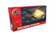 Airfix A02101 Royal Aircraft Factory BE2c - Night Fighter 1:72 Scale Model Aircraft Kit