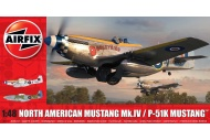 Airfix A05137 North American Mustang Mk.IV/P-51K