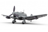 Airfix A07115 Junkers JU87B-2/R-2 1:48 Scale Model Aircraft Kit Assembled