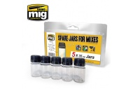 Ammo MIG8033 Spare Jar Set Of 5 35ml Jars