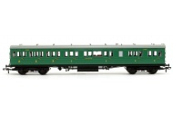 Bachmann 39-613 SE And CR 60ft Birdcage Composite Lavatory SR Malachite Green