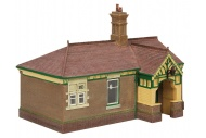 Bachmann 44-090G Bluebell Waiting Room And Toilet Green And Cream Waiting Room