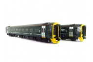 Bachmann 31-519 Class 158 2-Car DMU 158766 GWR Green (FirstGroup) Front Right