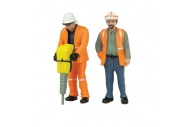 Bachmann Scenecraft 47-401 O Gauge Lineside Workers A
