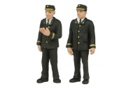 Bachmann Scencraft 47-411 O Gauge Station Staff 70s set A