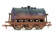 Dapol DA4F-031-006 6 Wheel Milk Tank MWB Weathered