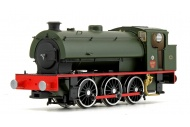 EFE Rail E85006 J94 Saddle Tank Army 92 'Waggoner' Army Green Front Left