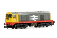 Graham Farish 371-034A Class 20 156 BR Railfreight Red Stripe Diesel Locomotive