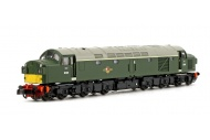 Graham Farish 371-185 Class 40 Split Headcode D338 BR Green (Small Yellow Panels) Front Left