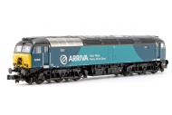 Graham Farish 371-659 Class 57/3 57315 Arriva Trains Wales (Revised) Front Left