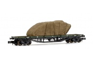 graham-farish-373-928-30-ton-bogie-bolster-wd-ww1-khaki-with-sheeted-tank-load