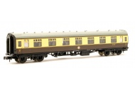 Graham Farish 374-163A BR Mk1 FK First Corridor Chocolate And Cream