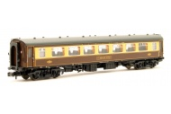 Graham Farish 374-212 BR Mk1 SP Pullman Second Parlour Car 352 Umber And Cream