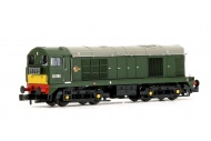 Graham Farish 371-038 Class 20 D8158 BR Green With Small Yellow Panel