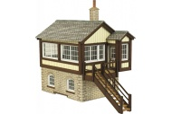 Metcalfe PO330 GWR Signal Box Card Kit