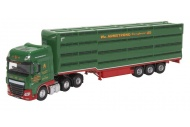 Oxford Diecast 76DXF003 Daf XF Houghton Parkhouse William Armstrong Livestock Trailer