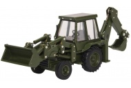 Oxford Diecast 76JCX002 JCB 3CX 1980s Army