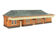 Oxford Structures OS76R001 D GWR Station Building Pre-Built