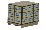 Oxford Diecast 76ACC001 4 pack pallet loads Aspro