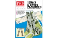 Peco IN-1 N Gauge Setrack Planbook