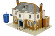 SuperQuick SQB25 Police Station / Public Library OO Gauge Card Kit