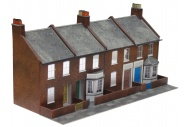 Superquick SQC06 Four Red Brick Terraced Fronts