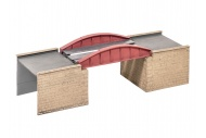 Wills Kits SS47 Bow Plate Girder Bridge