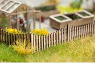 Noch 14230 Timber Fence Laser Cut Minis Kit