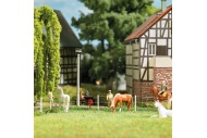 Busch 1014 Electric Fence HO/OO Gauge Plastic Kit