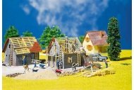 Faller FA130246 House Under Construction Kit III