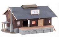 Faller 120095 Goods Shed HO Gauge Plastic Kit