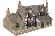 Metcalfe PO267 Town End Cottage OO Gauge Card Kit