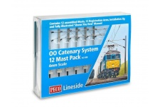 Peco LC-100 OO gauge cantenary system