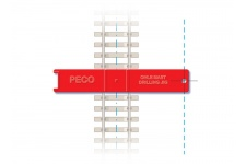Peco LC-115 Catenary Mast Installation Jig (Pack of 2)