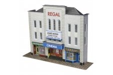 Metcalfe PN170 Low Relief Cinema N Gauge Card Kit