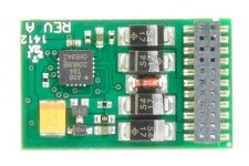 Bachmann 36-557 E-Z Command 1 Amp 4 Function 21 Pin DCC Decoder (DC Compatible)