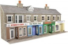 Metcalfe PO273 Low Relief Stone Shop Fronts 00 Gauge
