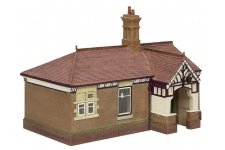 Bachmann 44-090C Bluebell Waiting Room and Toilet Crimson and Cream Waiting Room