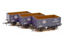Golden Valley Hobbies GV6020 3 Pack ICI 7 Plank Open Wagons