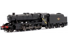 Graham Farish 372-163DS LMS Stanier Class 8F BR Black (Late Crest) No. 48773 With DCC Sound Front Left