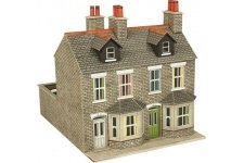 Metcalfe PO262 Stone Terraced Houses Card Kit
