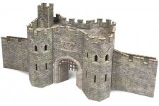 Metcalfe PO291 Castle Gatehouse OO Gauge Card Kit