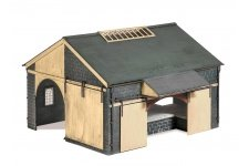 model railway plastic kit buildings