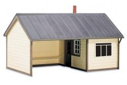 wills-ss60-oo-scale-station-platform-shelter-timber-plastic-kit681