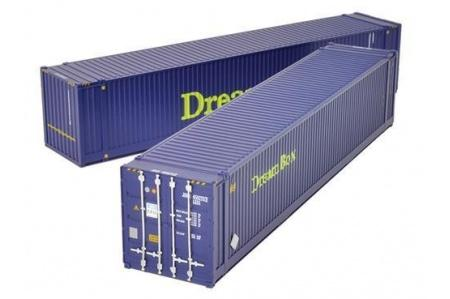 "BACHMANN 36-102 45FT CONTAINER X2 ""DREAM BOX"