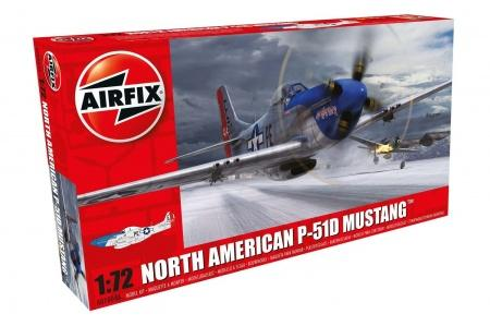 a01004a 1 north american p51d mustang 3d box