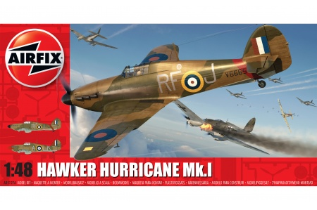 Airfix A05127A Hawker Hurricane Mk.1 Package